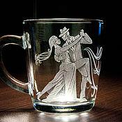 Посуда ручной работы. Ярмарка Мастеров - ручная работа Подарок подруге кружка танец Танго. Handmade.