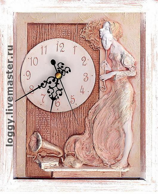 Часы для дома ручной работы. Ярмарка Мастеров - ручная работа. Купить Маска. Handmade. Подарок девушке, маска, кухня