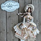 Куклы и игрушки ручной работы. Ярмарка Мастеров - ручная работа кукла тильда ручной работы МАДЕМУАЗЕЛЬ). Handmade.