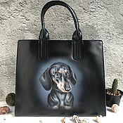 Сумки и аксессуары handmade. Livemaster - original item Bag with a painting