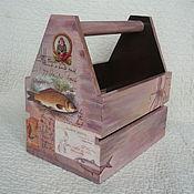 Для дома и интерьера ручной работы. Ярмарка Мастеров - ручная работа Ящик для инструментов. Handmade.