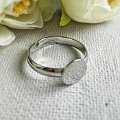 Материалы для творчества handmade. Livemaster - original item The basis for the Platinum ring (Ref. 2734). Handmade.