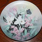 Винтаж handmade. Livemaster - original item Magnificent plate from the