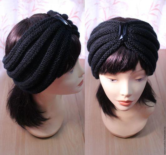 Повязки ручной работы. Ярмарка Мастеров - ручная работа. Купить Повязка на голову. Handmade. Комбинированный, повязка, шапка, женская одежда