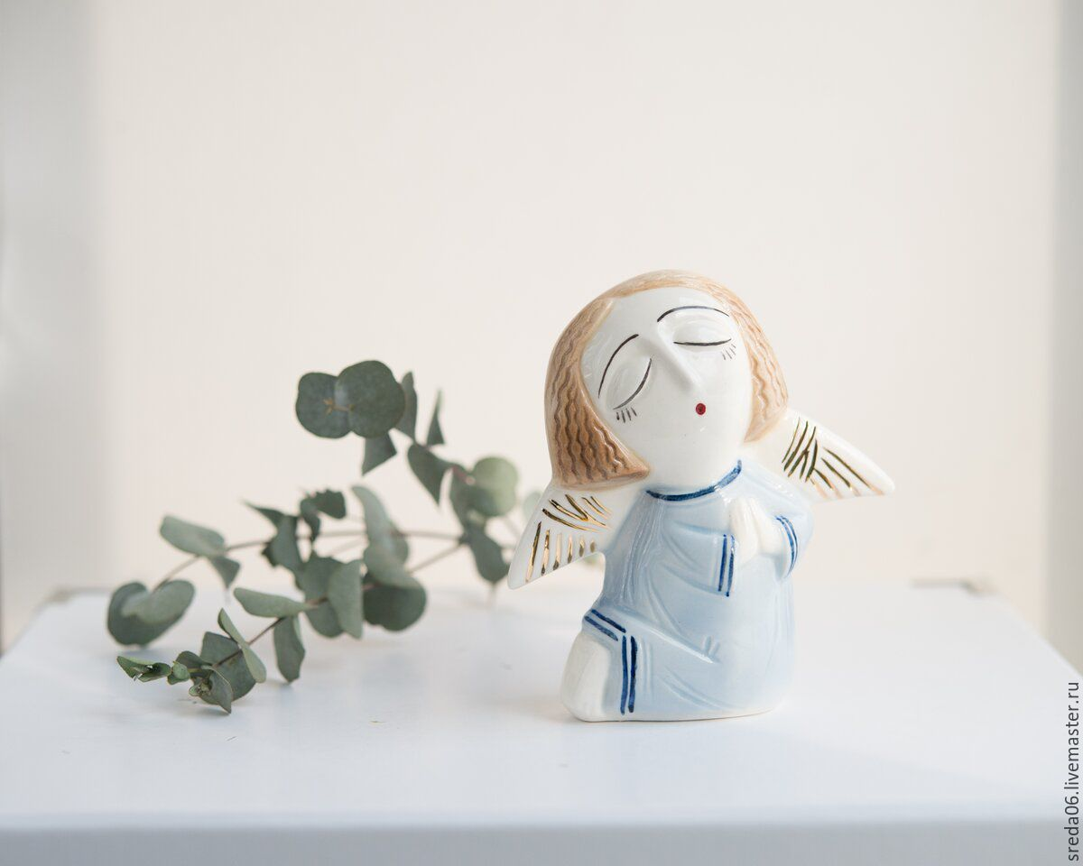 Buy porcelain angel easter gift on livemaster online shop easter gifts handmade livemaster handmade buy porcelain angel easter gift negle Image collections