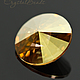 Риволи Сваровски 14мм Metallic Sunshine, риволи Свароски 1122, Сваровски риволи, риволи Сваровски купить. Купить риволи в Москве Вы можете в магазине CrystalBeads.