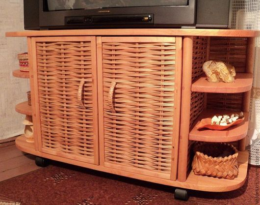 Мебель ручной работы. Ярмарка Мастеров - ручная работа. Купить Тумба под телевизор. Handmade. Тумба, мебель на заказ