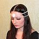 """Диадемы, обручи ручной работы. Ярмарка Мастеров - ручная работа. Купить Тика """"Лунная принцесса"""". Handmade. Белый, украшение для волос"""