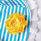 Украшения handmade. Livemaster - original item Flower brooch (any color). Brooch with flowers.. Handmade.