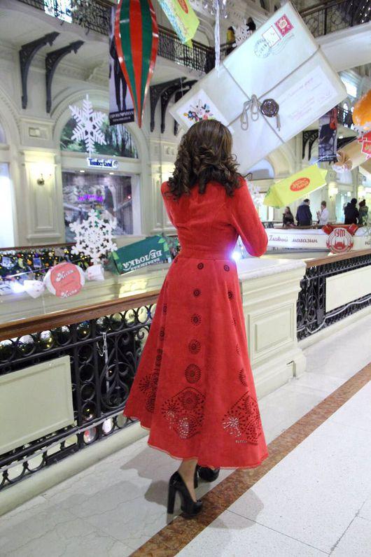"""Верхняя одежда ручной работы. Ярмарка Мастеров - ручная работа. Купить Пальто """"Красное вино"""" Пальто яркое. Handmade."""