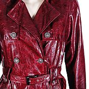 Одежда handmade. Livemaster - original item Trench coat genuine leather. Handmade.