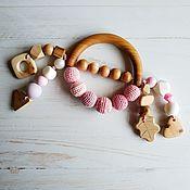 Работы для детей, handmade. Livemaster - original item Rodent-arc, teether