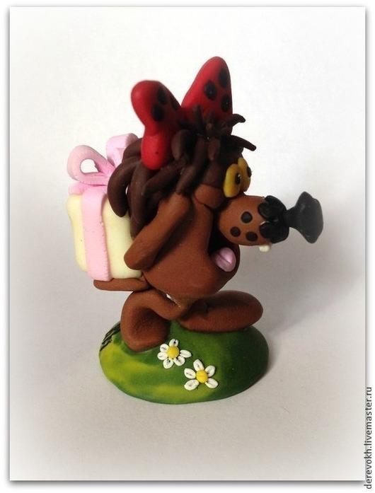 Миниатюра ручной работы. Ярмарка Мастеров - ручная работа. Купить Дюдюка барбидокская из глины. Handmade. Дюдюка, дюдюка барбидокская
