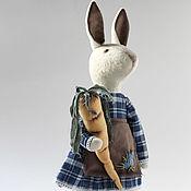 Куклы и игрушки ручной работы. Ярмарка Мастеров - ручная работа Jessie. Текстильный кролик.. Handmade.