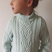Работы для детей, ручной работы. Ярмарка Мастеров - ручная работа Кашемировый свитер для девочки. Handmade.