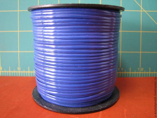 Шнур пластиковый для оплетки или сшивания, прочный, размер 0.7х2.2мм в катушке 91м. Цена за 1м 10руб. Катушка -540руб