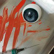 """Мыло ручной работы. Ярмарка Мастеров - ручная работа Мыло """"Глазик"""" к Хэллоуину. Handmade."""