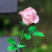 Цветы и флористика ручной работы. Ярмарка Мастеров - ручная работа Бутон розы ручной работы. Handmade.