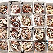 Подарки к праздникам ручной работы. Ярмарка Мастеров - ручная работа Писанки (узоры трипольской керамики). Handmade.
