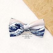 Аксессуары handmade. Livemaster - original item Tie a Big wave/Sea. Handmade.