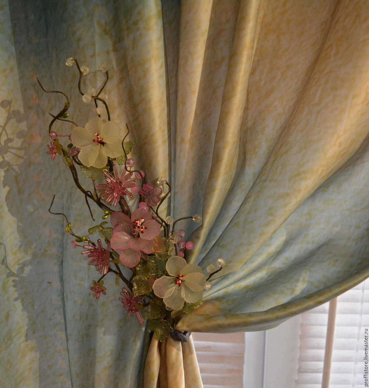 Декаративные цветы для штор купить свой заказ букетов цветов вы получаете натуральную свежесть и непревзойденный