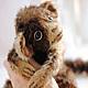 Мишки Тедди ручной работы. обезьянка Мика. Жанна Панькова. Интернет-магазин Ярмарка Мастеров. Рыжий, мохер