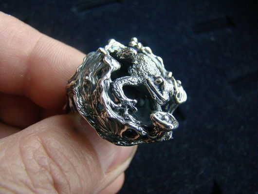"""Кольца ручной работы. Ярмарка Мастеров - ручная работа. Купить Кольцо """"Очарование"""". Handmade. Серебряный, кольцо из серебра"""