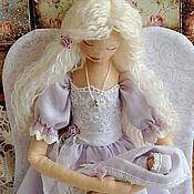 """Куклы и игрушки ручной работы. Ярмарка Мастеров - ручная работа Ангел """"Мамино сердце"""". Handmade."""