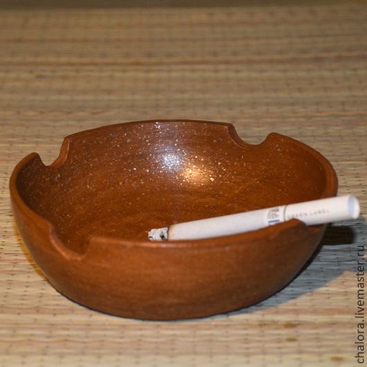 Пепельницы ручной работы. Ярмарка Мастеров - ручная работа. Купить Пепельница керамическая. Handmade. Коричневый, керамика ручной работы