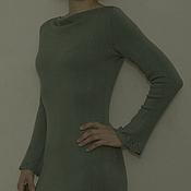Одежда ручной работы. Ярмарка Мастеров - ручная работа Платье вязаное из вискозы. Handmade.