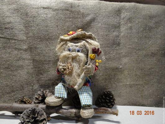 Народные куклы ручной работы. Ярмарка Мастеров - ручная работа. Купить домовой. Handmade. Оберег для семьи, душевный подарок, ситец