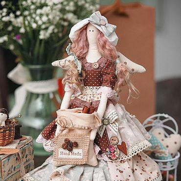 Куклы и игрушки ручной работы. Ярмарка Мастеров - ручная работа Тильды: Кофейная фея. Handmade.