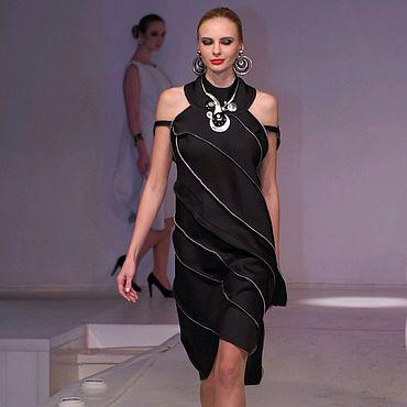 Одежда ручной работы. Ярмарка Мастеров - ручная работа Маленькое черное платье с голой спиной. Handmade.