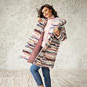 Одежда handmade. Livemaster - original item Rainbow stripe jacket. Handmade.