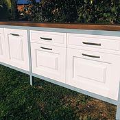 Для дома и интерьера handmade. Livemaster - original item Cupboard Cabinet or shelf for bathroom or kitchen made of solid wood. Handmade.