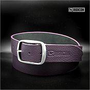 Аксессуары handmade. Livemaster - original item Purple belt. Handmade.