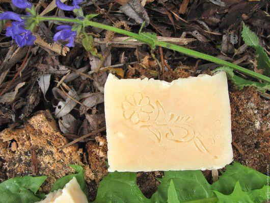 """Мыло ручной работы. Ярмарка Мастеров - ручная работа. Купить Натуральное мыло """"Лесной орех"""". Handmade. Бежевый, натуральная косметика"""