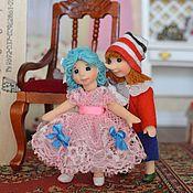 Куклы и игрушки ручной работы. Ярмарка Мастеров - ручная работа Кукла миниатюрная  Буратино 4. Handmade.