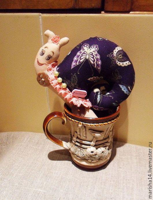 Куклы Тильды ручной работы. Ярмарка Мастеров - ручная работа. Купить Улитки Тильда (розовое кружево). Handmade. Улитка