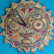 Часы классические ручной работы. Ярмарка Мастеров - ручная работа Солнечные часы.. Handmade.