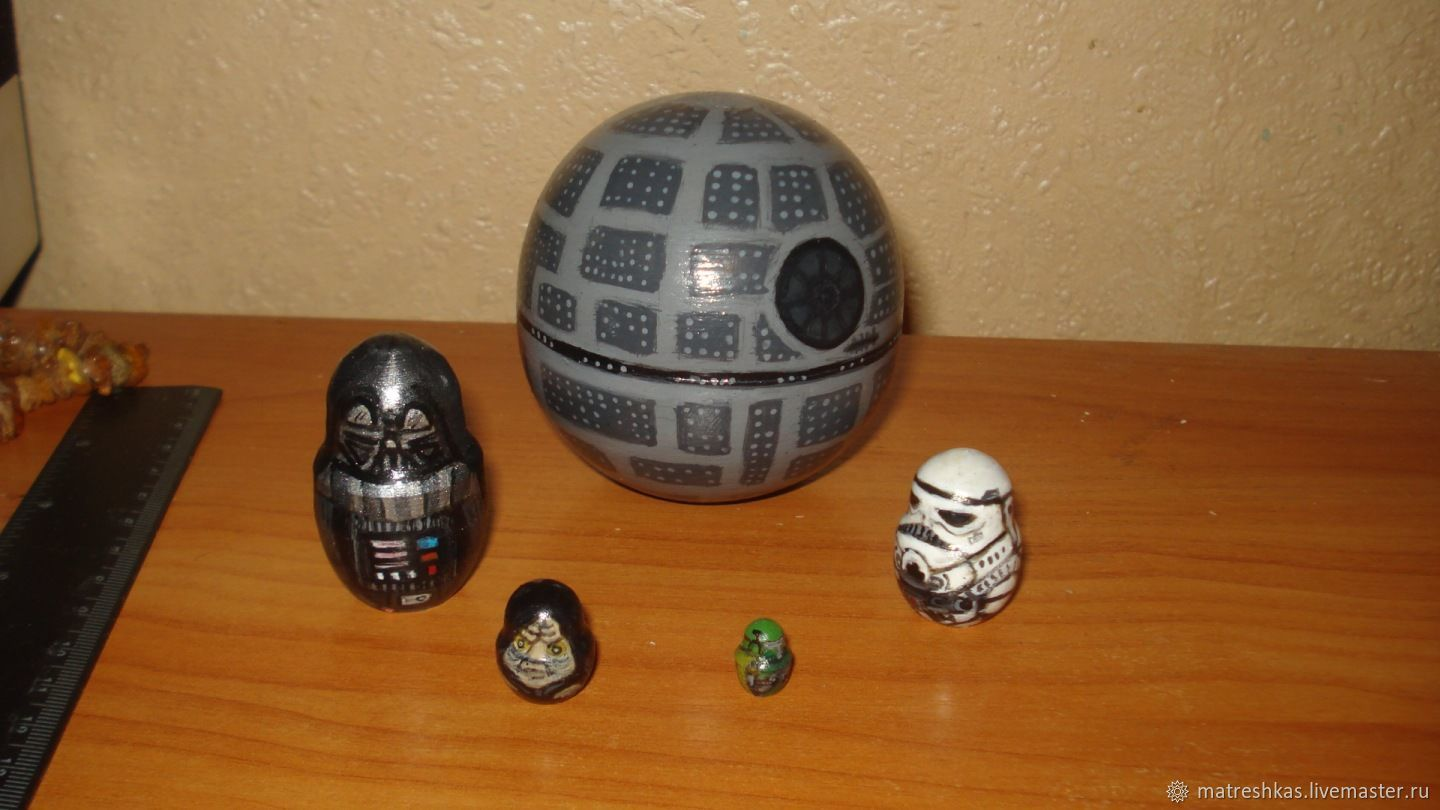 Customized Gifts handmade. Livemaster - handmade. Buy Matryoshka Star wars death Star.Unique work, matryoshka, tree