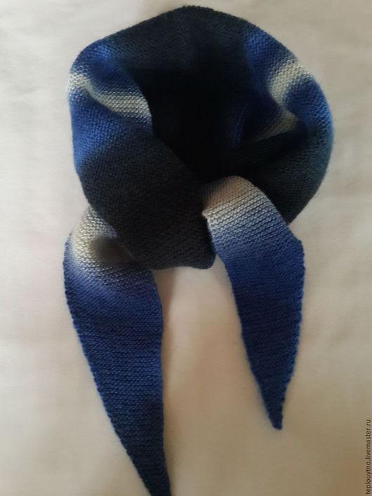 Шарфы и шарфики ручной работы. Ярмарка Мастеров - ручная работа. Купить Бактус вязаный (шарф, косынка ). Handmade. Комбинированный