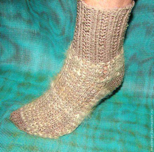 Носки спортивные с собачьим пухом  Носки женские ручной работы  Моделирующие носки 40-41размер женские