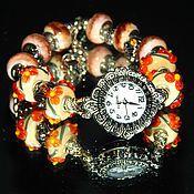 """Украшения ручной работы. Ярмарка Мастеров - ручная работа Часы   """"Orange"""". Handmade."""
