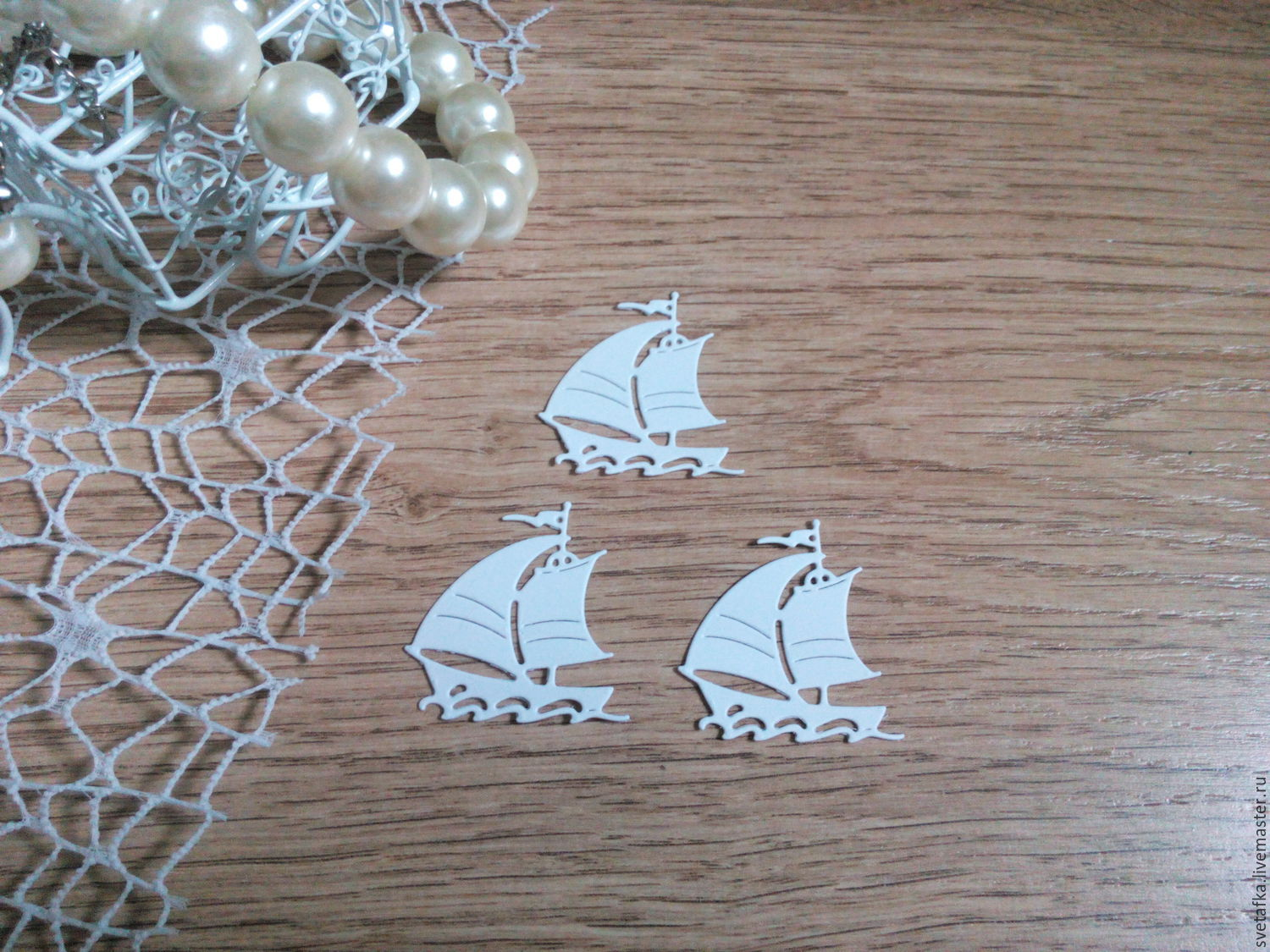 !Cutting scrapbooking embossed - BOAT from holiday), Scrapbooking cuttings, Mytishchi,  Фото №1