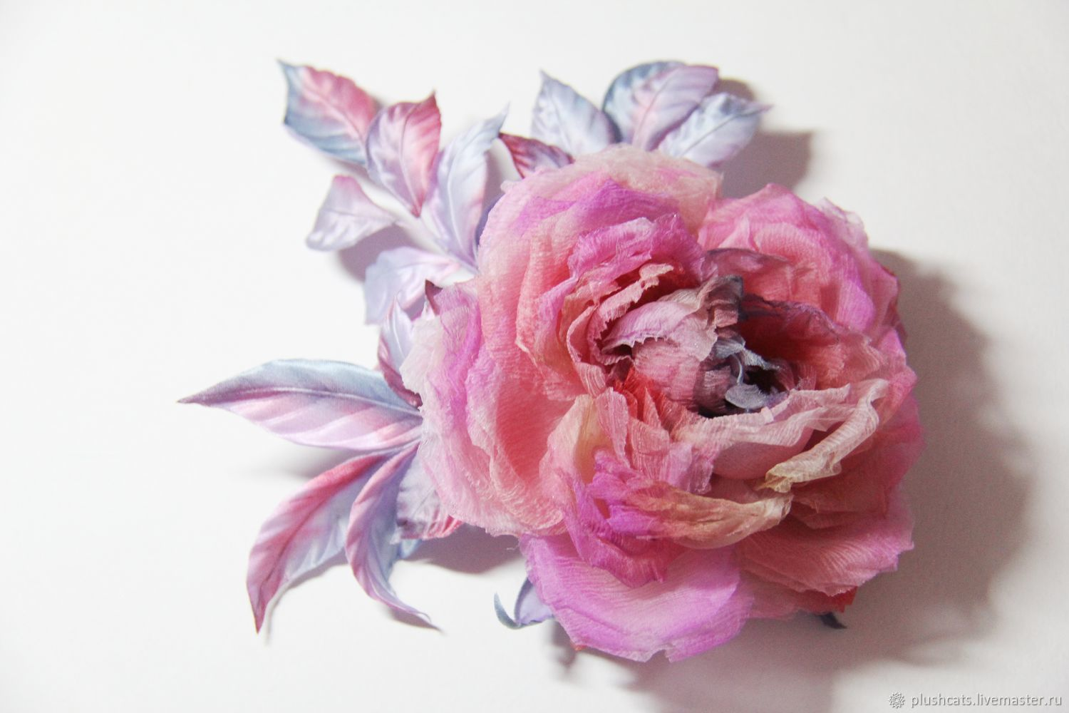 Rose silk, Brooches, Moscow,  Фото №1