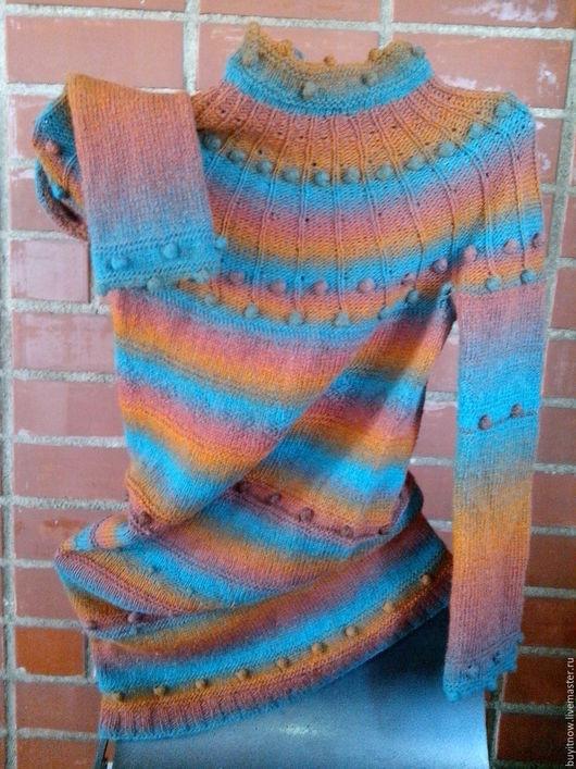 """Платья ручной работы. Ярмарка Мастеров - ручная работа. Купить Платье """"Морской закат"""". Handmade. Комбинированный, одежда для женщин"""