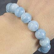 Украшения handmade. Livemaster - original item Delicate bracelet natural aquamarine. Handmade.