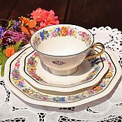 Винтаж handmade. Livemaster - original item Rosenthal (1929) Antique, tea trio.. Handmade.