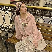 Одежда ручной работы. Ярмарка Мастеров - ручная работа Бохо в розовых тонах. Handmade.